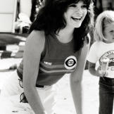 Valerie flashes a winning smile in the Battle of the Network Stars in