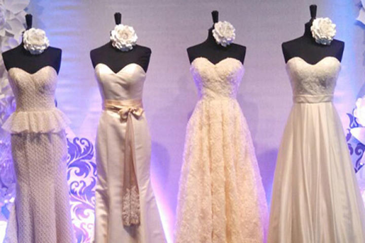Get an exclusive look at new wedding fashion right off the runway at Bridal Market. Monte Durham from 'Say Yes to the Dress: Atlanta' offers his expert insight into all the latest trends in this photo gallery. And brace yourselves: wedding dresses have never been sexier.