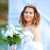 Snowflake Princess and Veil of Darkness Wedding Dress Pictures