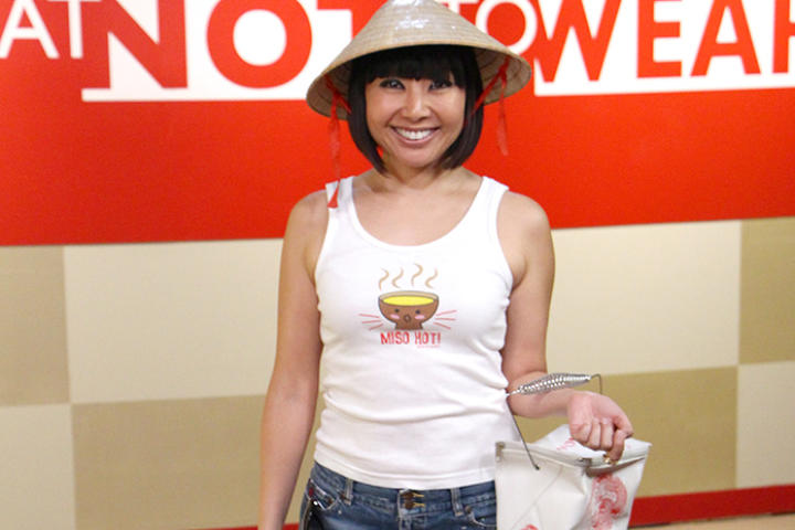 39-year-old Megumi enjoys dressing up like a Japanese cartoon character and makes no apologies for her wild, childish style.