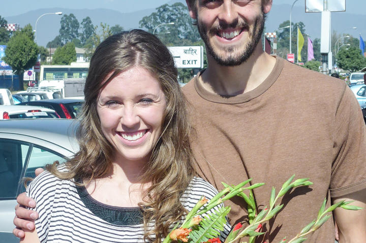 Derick was in Nepal for two years doing missionary work after college.