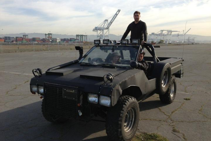 If the Zombie Apocalypse ever does happen, I think we'll be ready for it.   From Tory Belleci's Twitter feed. Follow