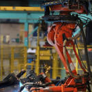 We don't mean to malign the world's hard-working industrial robots, wh