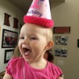 ariella mae brown birthday 2