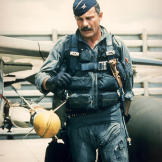 "Vietnam Air ace and 8th Tactical Fighter Wing Commander Robin Olds employed new tactics in that theater to earn his ""Wolfpack"" an impressive 24 MIG kills."