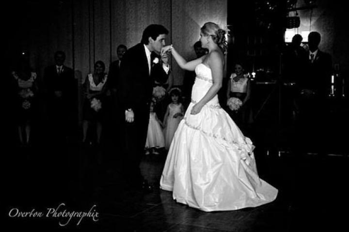 """""""This is the beginning of our first dance as husband and wife,"""" Holly says. The Tanners danced to Natalie Grant's """"In Better Hands Now."""""""