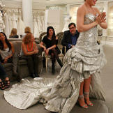 Kelly bought this one-of-a-kind silver Pnina Tornai for $34,000.