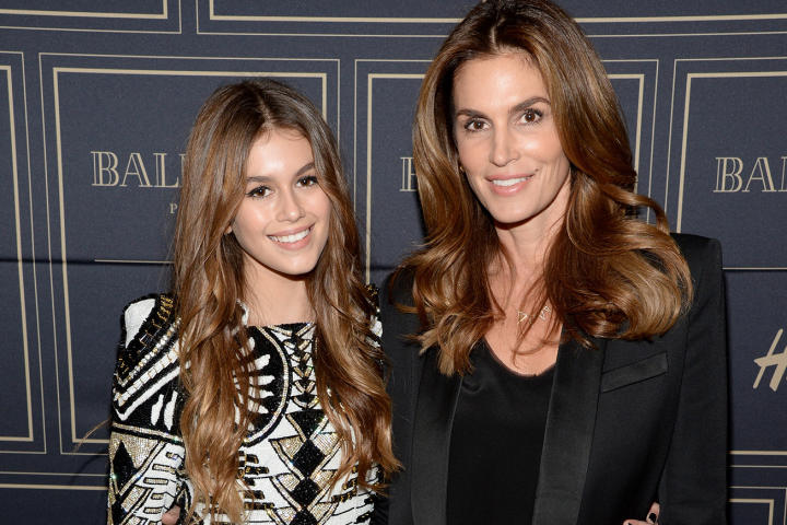 mother-daughter-lookalikes cindy crawford