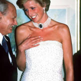 Has there ever been a more famous and beloved princess? The whole world watched as Diana wed Prince Charles in a fairy-tale ceremony in 1981 at St. Paul's Cathedral. Sadly, the marriage seemed doomed to fail from the start, despite the birth of their two handsome princes, William and Harry. The couple divorced in 1996 following a substantial separation, and the people's princess, as Diana was commonly known, was tragically killed in a car accident the following year.