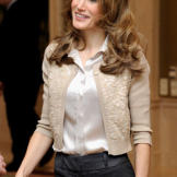 A former television anchorwoman in Spain, Princess Letizia was no stranger to the limelight by the time she married Prince Felipe of Spain in 2004. Although she has been criticized by some old-school Spanish royalists for her previous divorce and status as a commoner by birth, the princess has enjoyed rising popularity among her people as a fashion icon and formidable force in political circles.