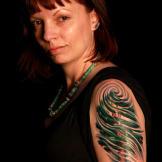 Tattoo by Megan Massacre.