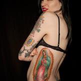Tattoo by Tim Hendricks on Amy