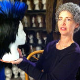Over 15 years, Tamis has amassed an extensive collection of wigs -- it