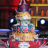 Ashley's pyro-heavy, detailed Vegas cake wowed the crowed and earned h