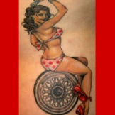 #8 - Pin-Up Girl by Justin Weatherholtz