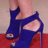 Purple heels by
