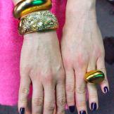 Gold Cuff by