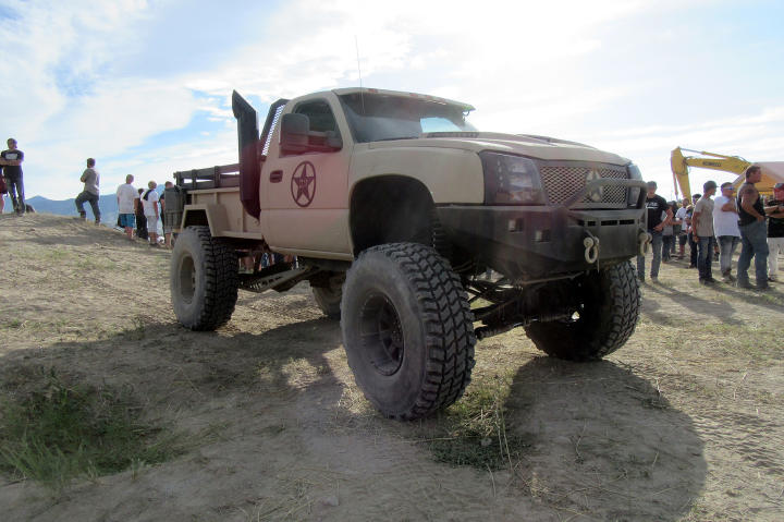 The completed Duramax Diesel truck