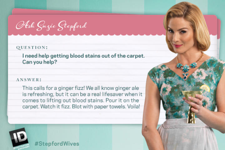 Suzie tells you how to get rid of pesky bloodstains.