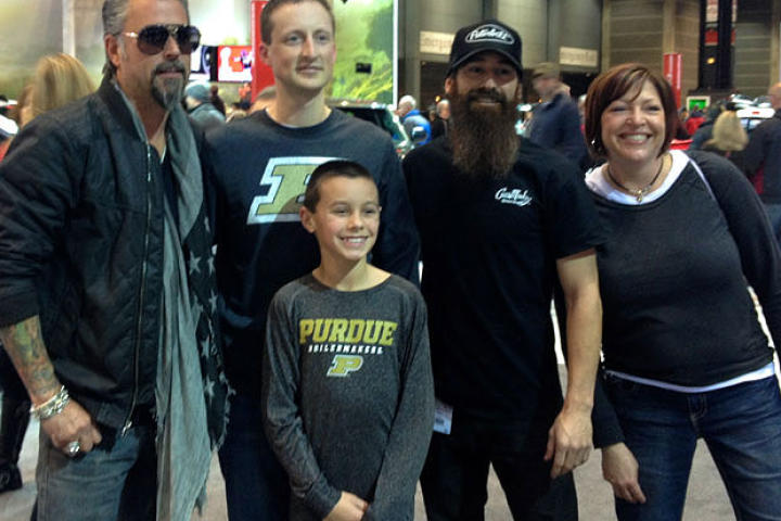 Richard and Aaron gear up for an all-new season of Fast N' Loud by hanging out with fans at the Chicago Auto Show.