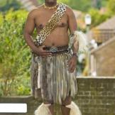 Prince Africa Zulu of Onkweni Royal House: Age 33; from South Africa;
