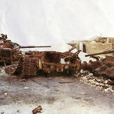 Destroyed IDF tanks near Ismailia, Egypt during the latter stages of the Yom Kippuer War, 1973. Watch video of the