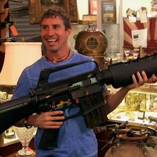 Massive M16 Replica