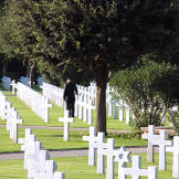The North African American Cemetery in Tunis, Tunisia, established in