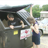 3. Dumpster Dive