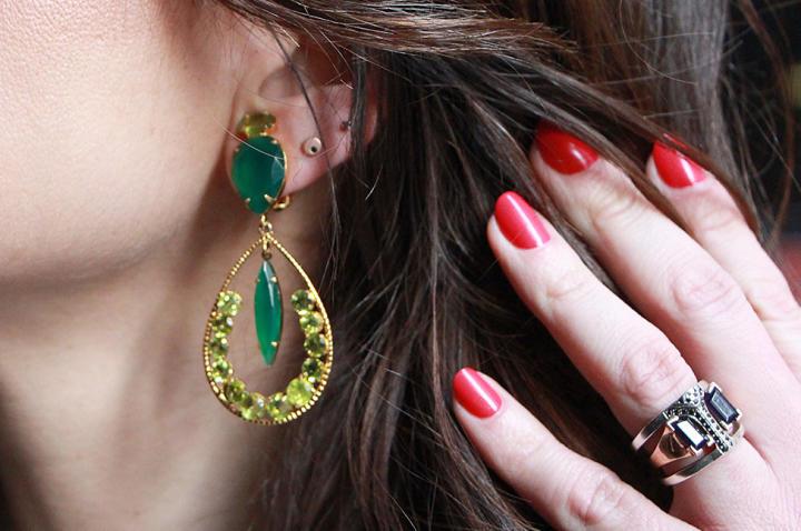 Jade Earrings by
