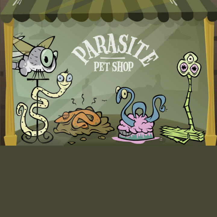 Parasite Pet Shop. Health|Monsters Inside Me