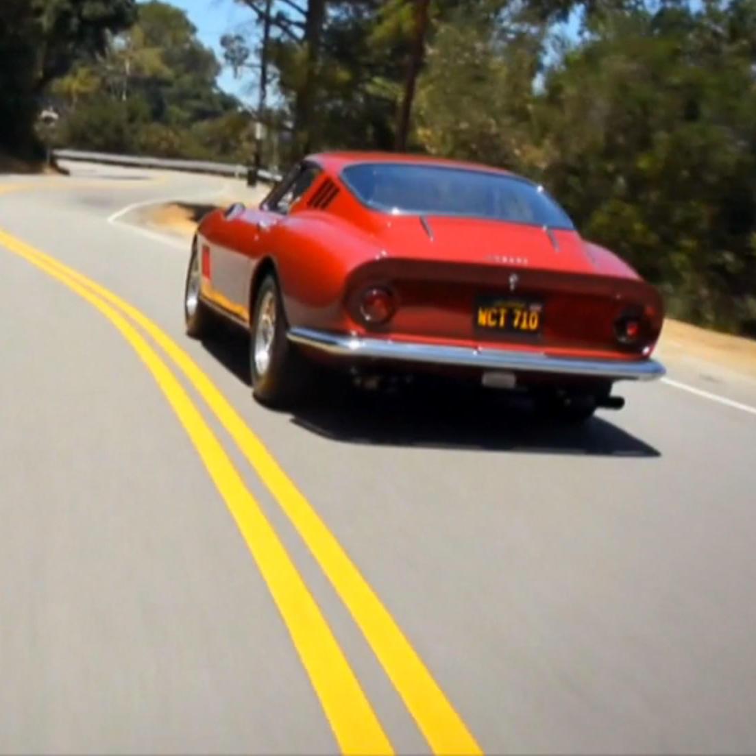 Rock Star Good: McQueen's '67 Ferrari