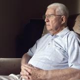 Veteran of the Battle of Tarawa William L. Jeffries.