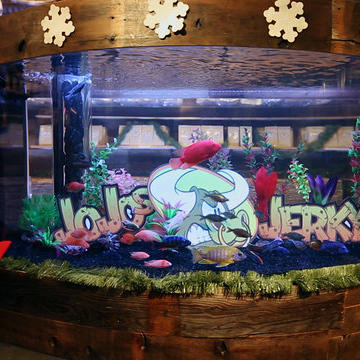 Reveal: A Beautiful and Functional Tank for JoJo's Jerky