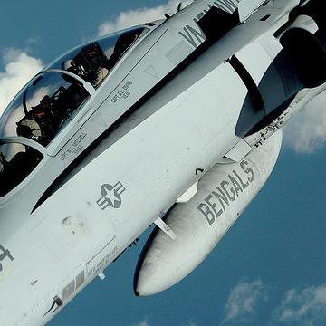 The F-18 Super Hornet