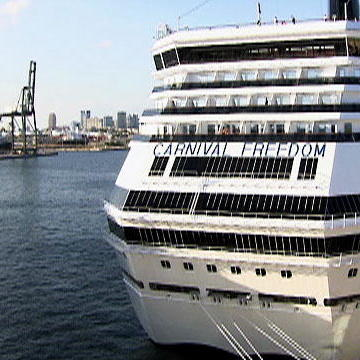 Work on a Giant Cruise Ship