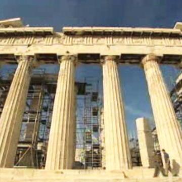 The Parthenon - An Optical Illusion