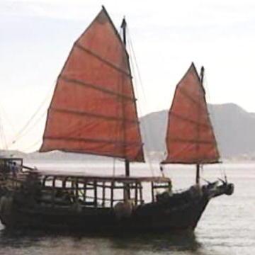 Chinese Batten Sail