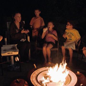 Bonus Scene: Evening Campfire