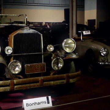 First Preserved Car Sold