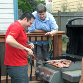 Brett hosts a barbecue to say farewell to Cassidy and to introduce Day