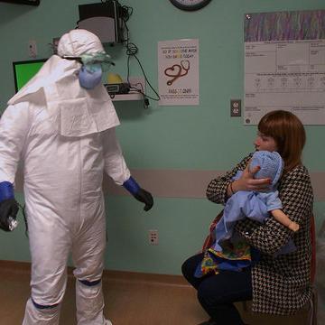 Ebola Simulation Drill