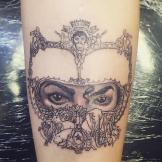 paris jackson dangerous tattoo