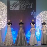 Gray on display at New York International Bridal Market Week.