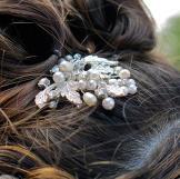 Felicia's hair accessories.