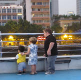 Last night in China for the family.