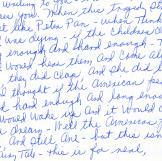 Letter by Estelle Sherman, read by Laura Linney.