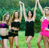 From the left, JoAnn, Annie, Kayla, Mellie, Nettie and Sheena -- other