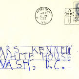 After John F. Kennedy's assassination, more than 800,000 letters of co