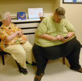 James and his mom wait to see Dr. Nowzaradan. Obesity-related complica